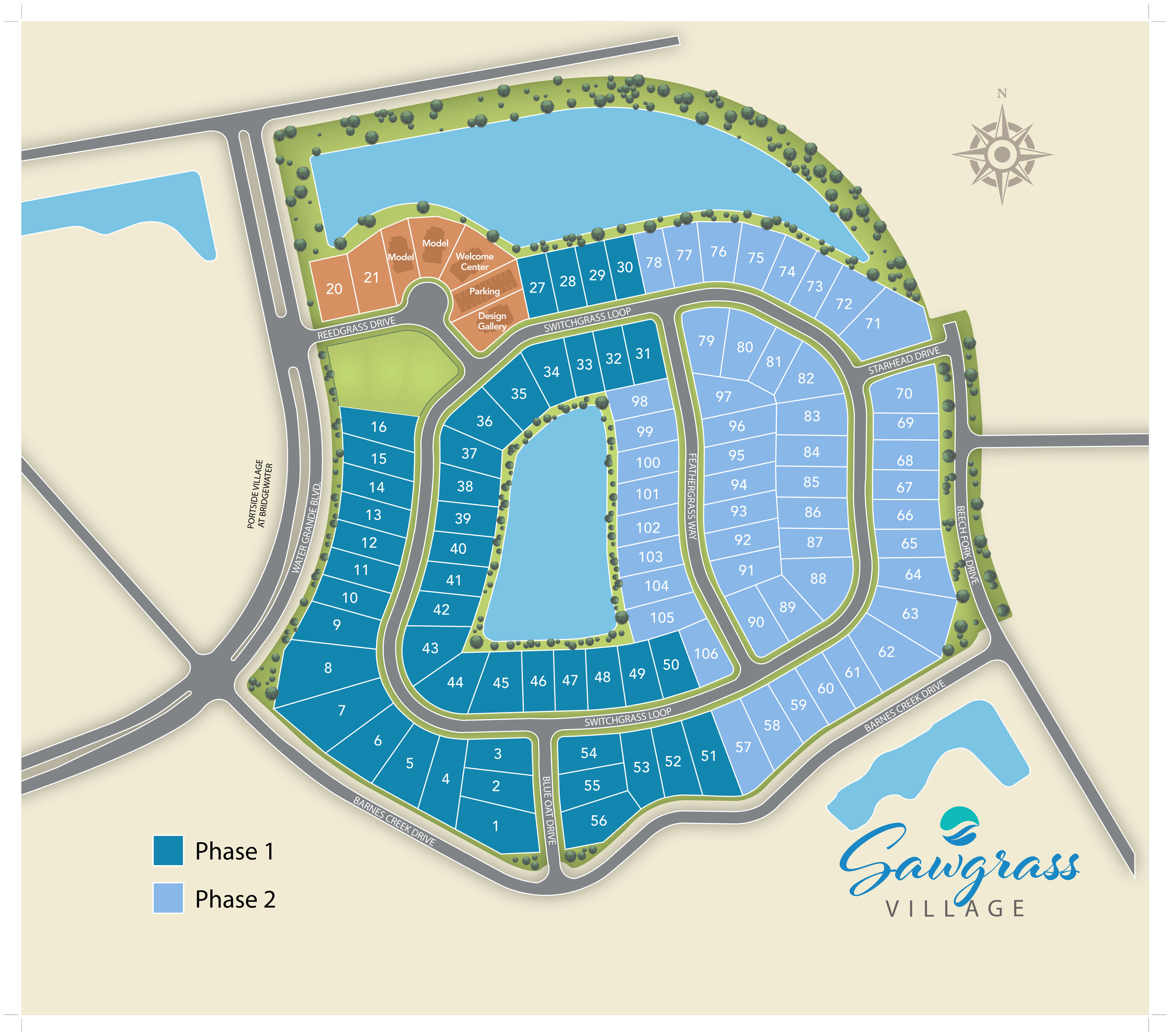 Little River, SC Bridgewater - The Cottages New Homes from Chesapeake