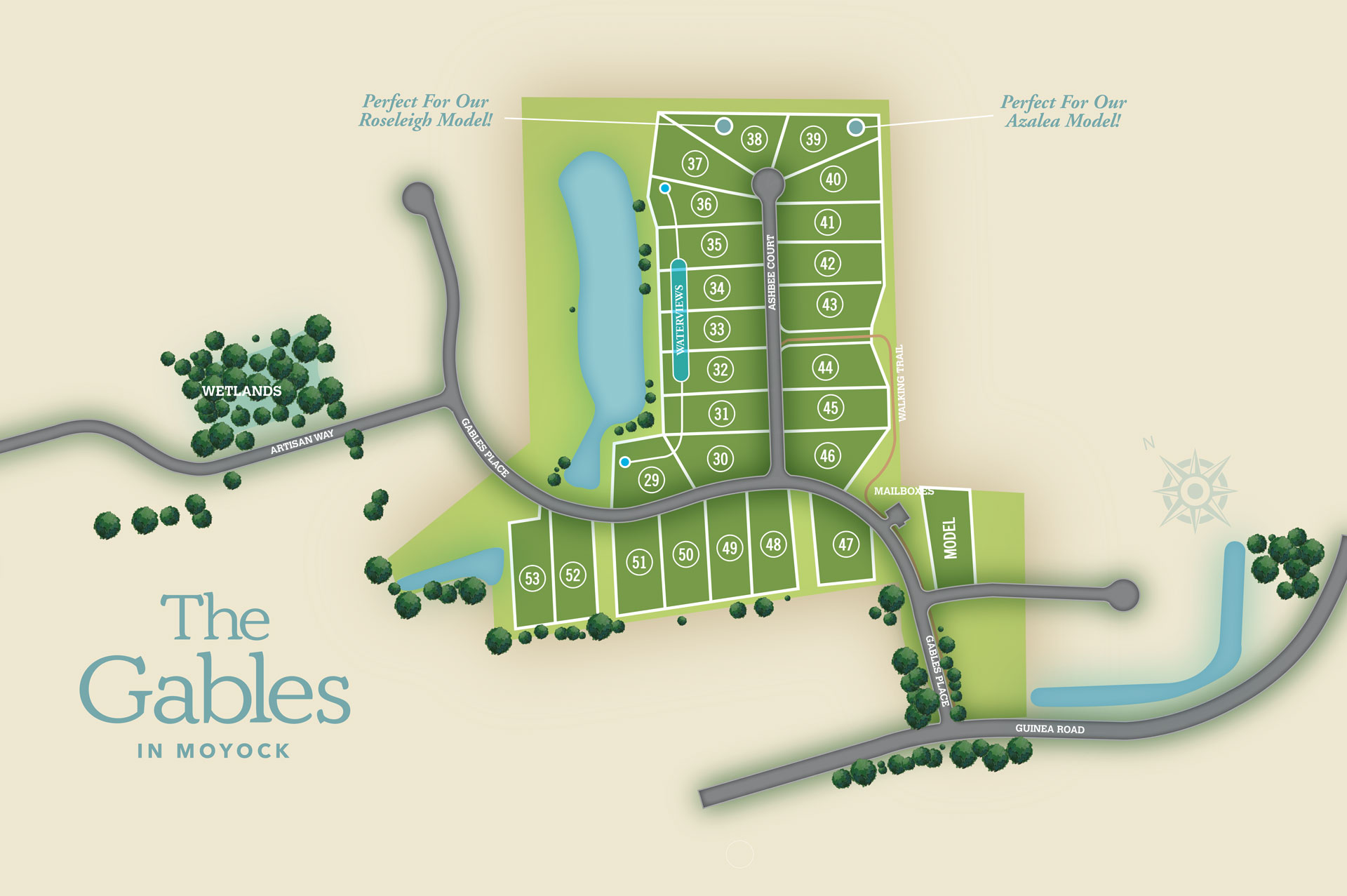 Moyock, NC The Gables New Homes from Chesapeake