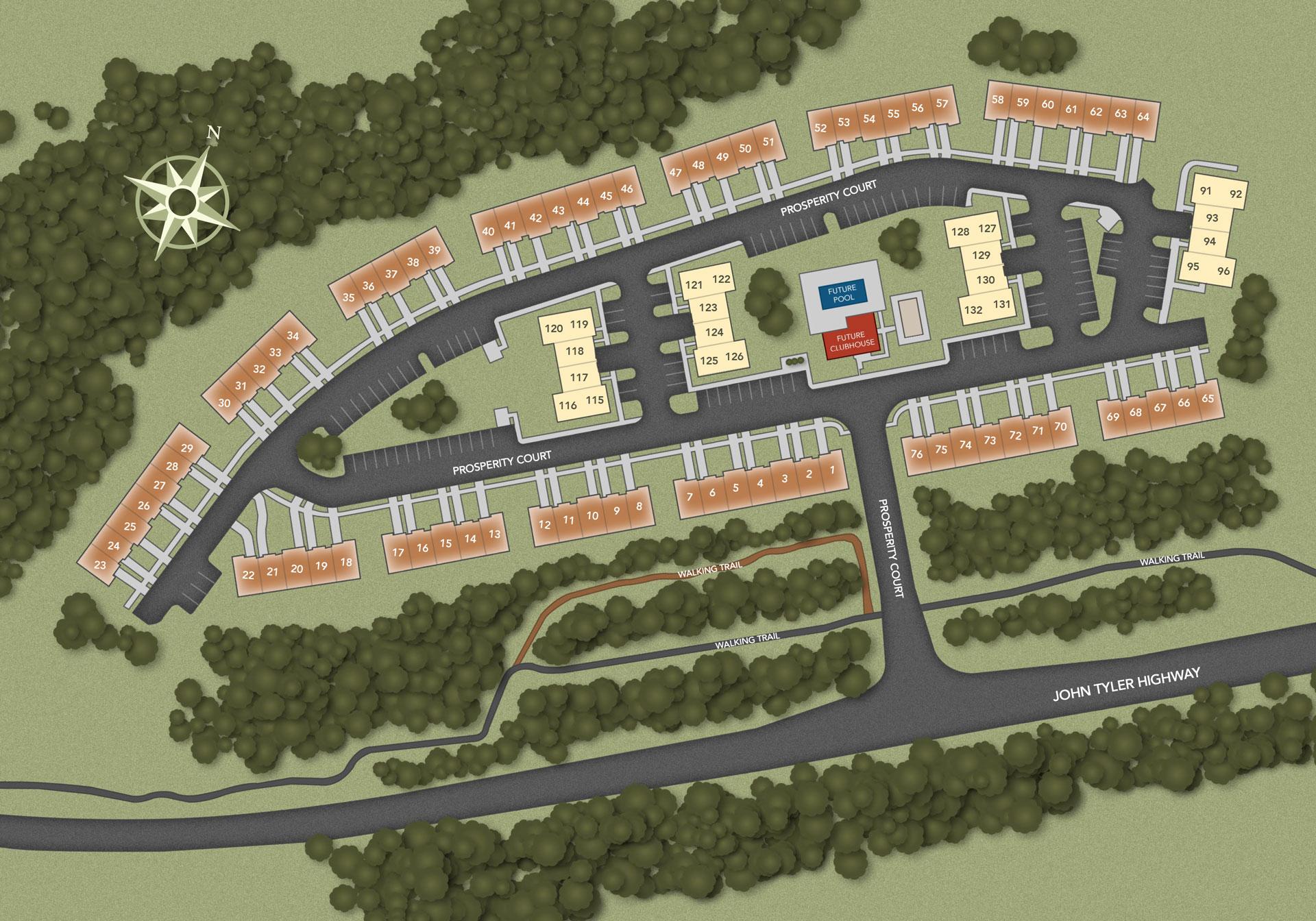 Williamsburg, VA Governors Grove New Homes from Chesapeake
