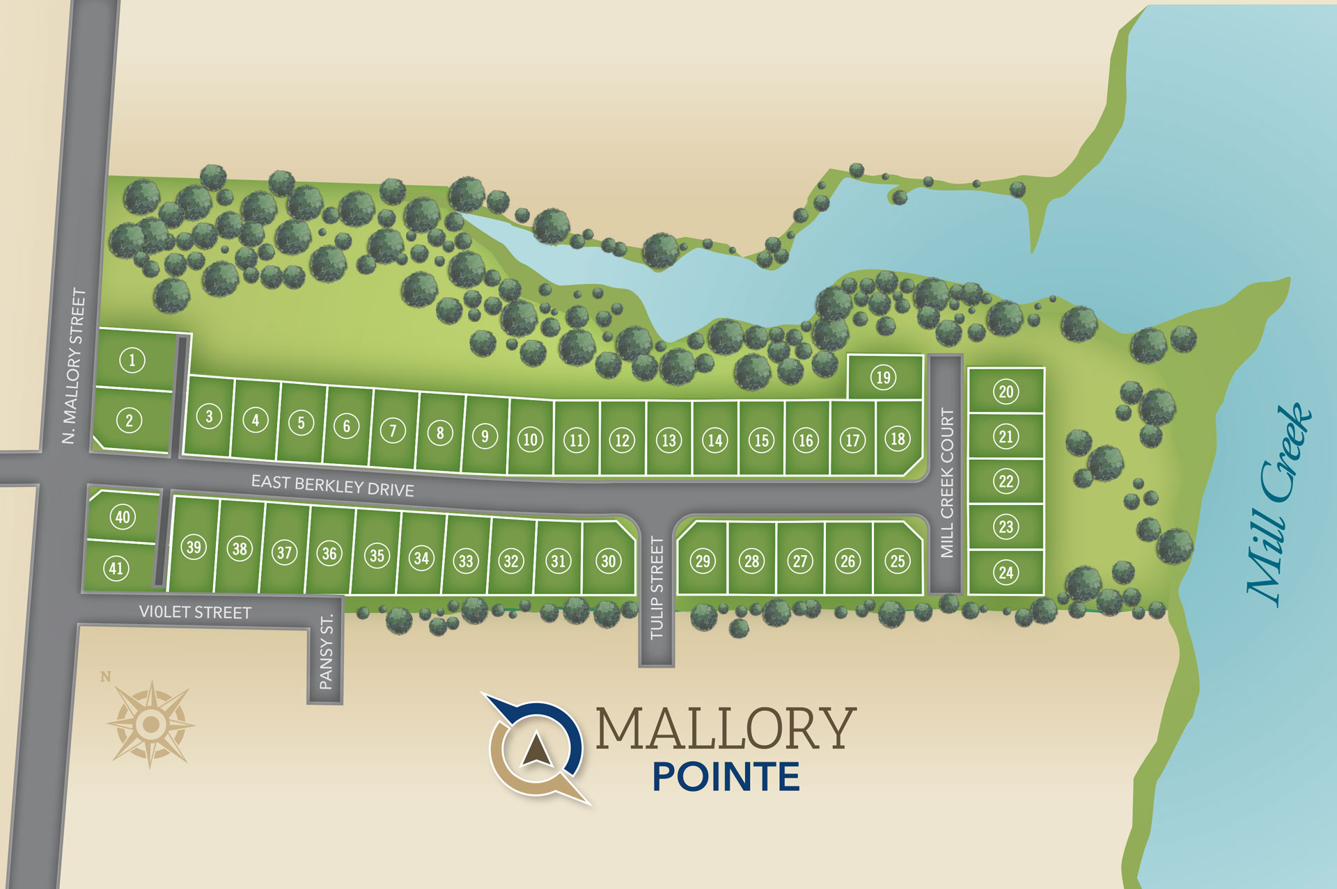 Hampton, VA Mallory Pointe at Buckroe Beach New Homes from Chesapeake